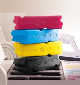 Cartuccia colore inchiostro solido della stampante ColorQube Xerox
