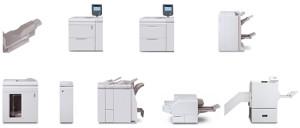 Opzioni di finitura Xerox Color C75