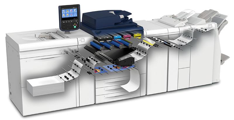 Xerox Versant 80 - Progetto