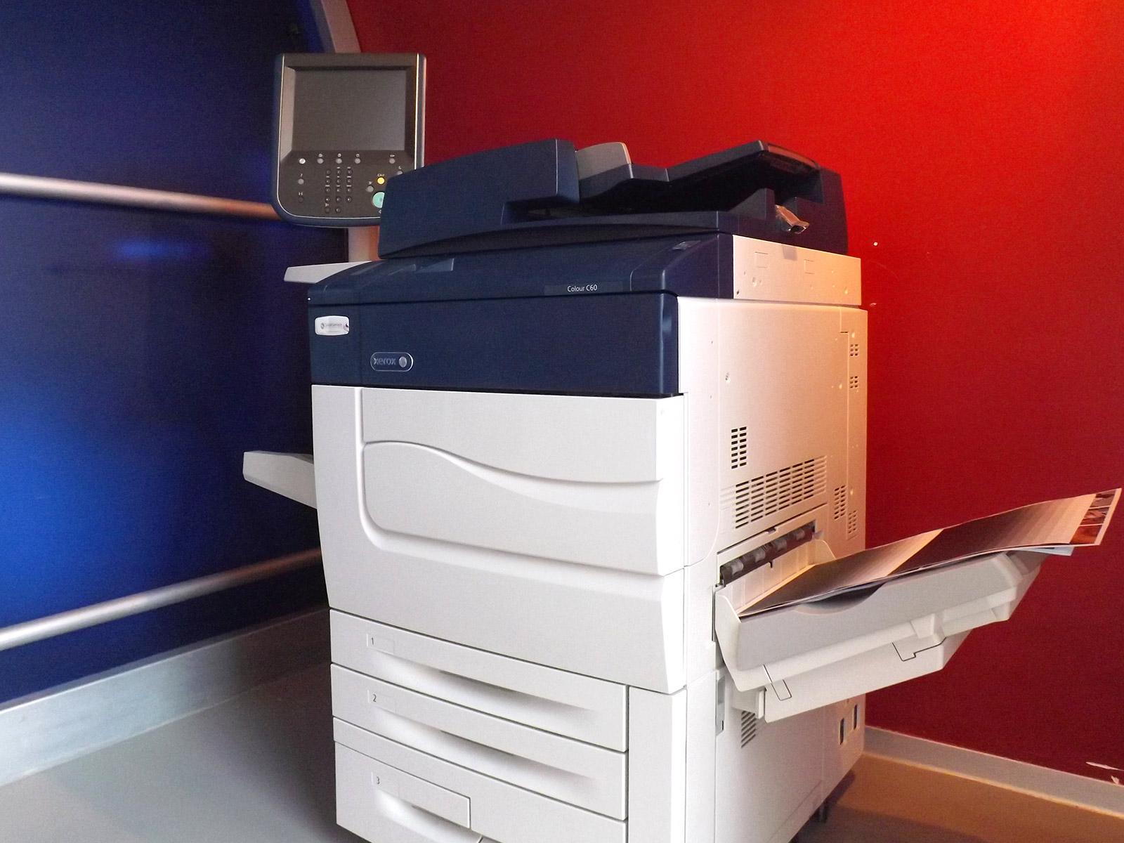 Xerox Colour C60 VA - Usato garantito Xerox - Lato