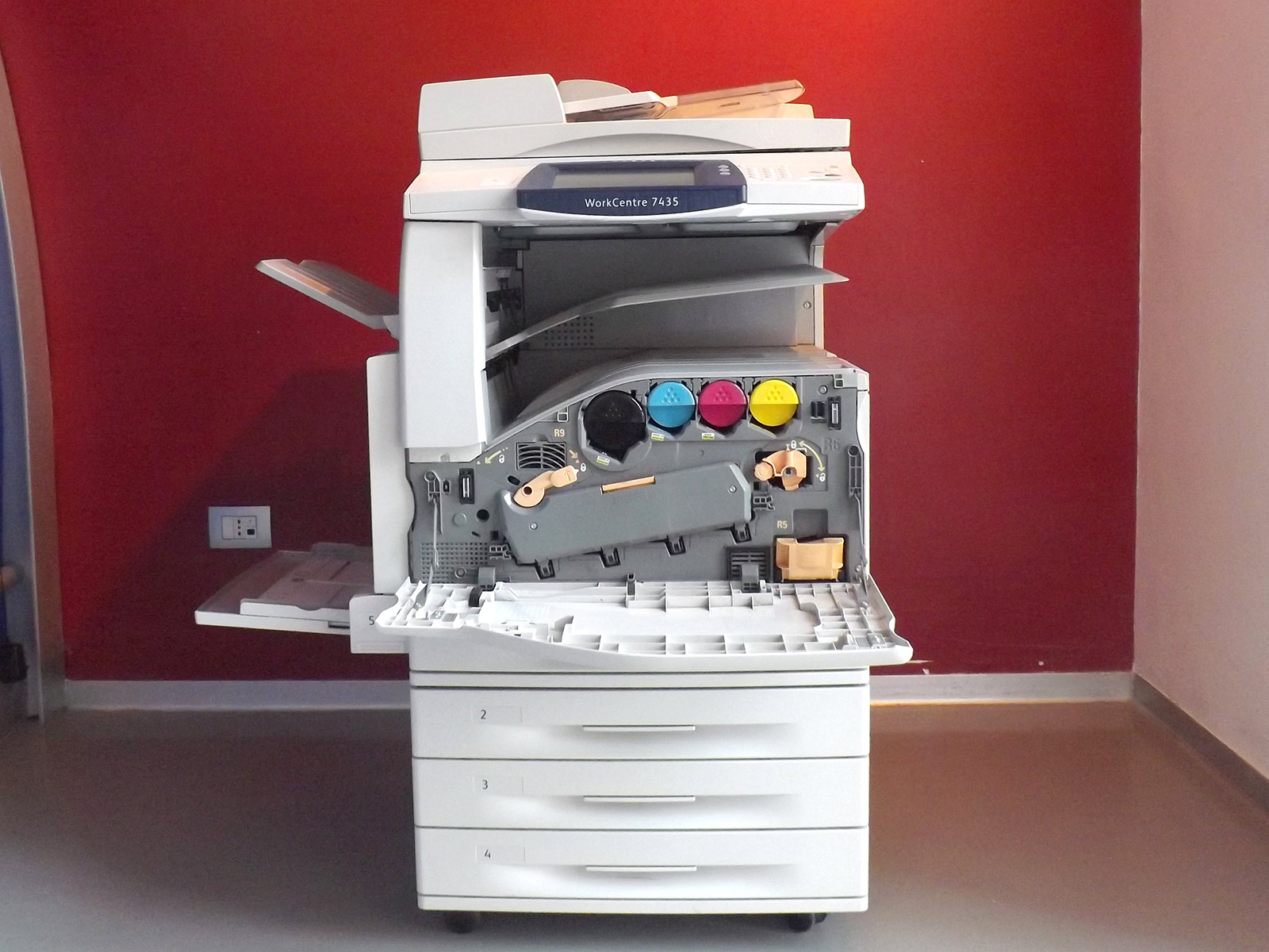 Xerox WorkCentre 7435 - Usato garantito - Fronte interno