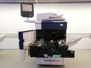 Xerox Colour 550 - Usato garantito Xerox - Fronte aperto