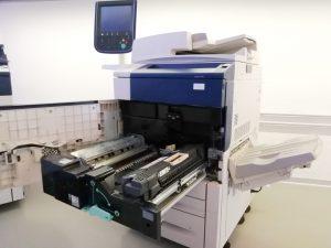 Xerox Colour 550 - Usato garantito Xerox - Lato aperto
