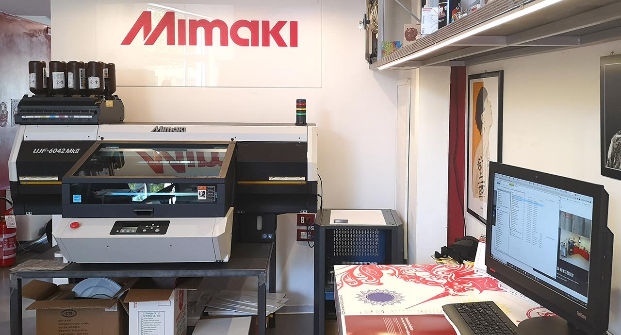 ShowRoom Sale&Service Informatica - Partner Mimaki