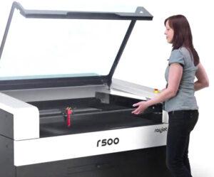 Trotec r500 - Taglio e incisione Laser
