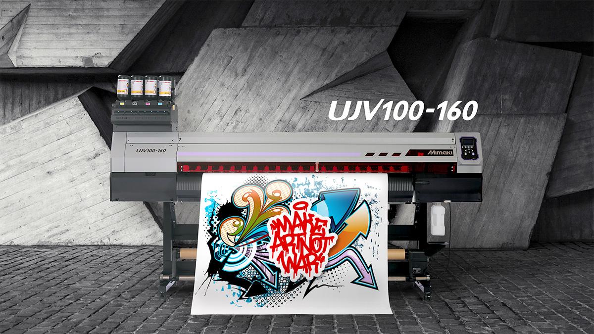Stampante grande formato UV-LED Mimaki UJV100-160