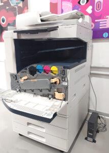 Xerox AltaLink C8035 usata - Vista interno