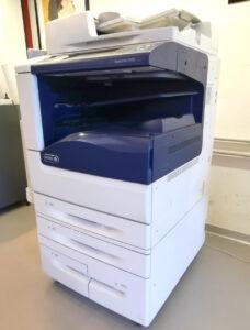 Xerox Workcentre 7970 - Vista lato